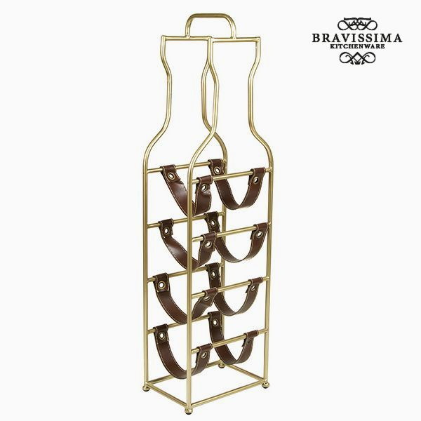 Bottle rack (4 bottles) - Art & Metal Collection by Bravissima Kitchen-Universal Store London™