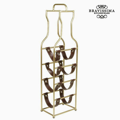 Image of Bottle rack (4 bottles) - Art & Metal Collection by Bravissima Kitchen-Universal Store London™