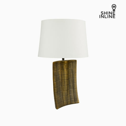 Desk Lamp Gold Ceramic (34 x 9 x 61 cm) by Shine Inline-Universal Store London™