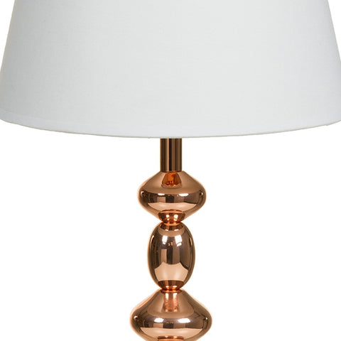 Image of Desk Lamp Copper Aluminium (25 x 25 x 54 cm) by Shine Inline-Universal Store London™