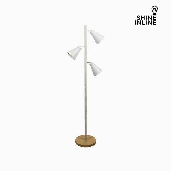 Floor Lamp Beech wood Iron (44 x 27 x 141 cm) by Shine Inline-Universal Store London™