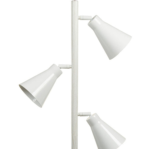 Image of Floor Lamp Beech wood Iron (44 x 27 x 141 cm) by Shine Inline-Universal Store London™