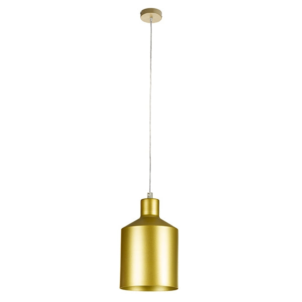 Ceiling Light Golden Iron (13 x 13 x 23 cm) by Shine Inline-Universal Store London™
