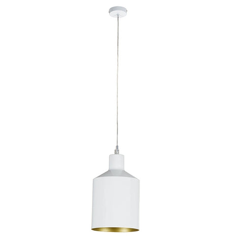 Image of Ceiling Light White Iron (13 x 13 x 23 cm) by Shine Inline-Universal Store London™