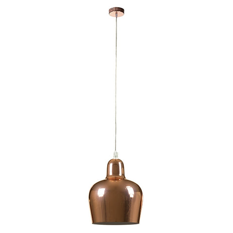 Image of Ceiling Light Copper Iron (16 x 16 x 21 cm) by Shine Inline-Universal Store London™