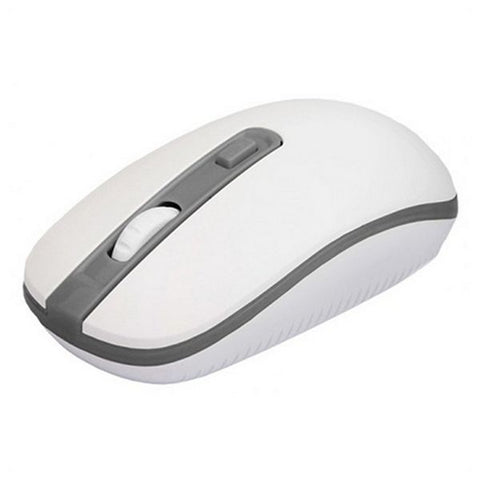 Wireless Mouse approx! APPWMVWG 1600 dpi Plug and play White Grey-Universal Store London™