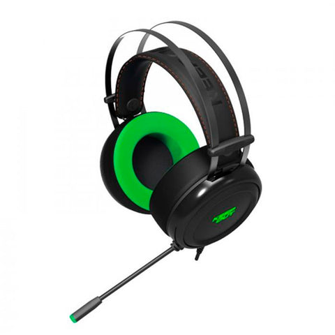 Gaming Headset with Microphone KEEP OUT HX10 Black Green-Universal Store London™