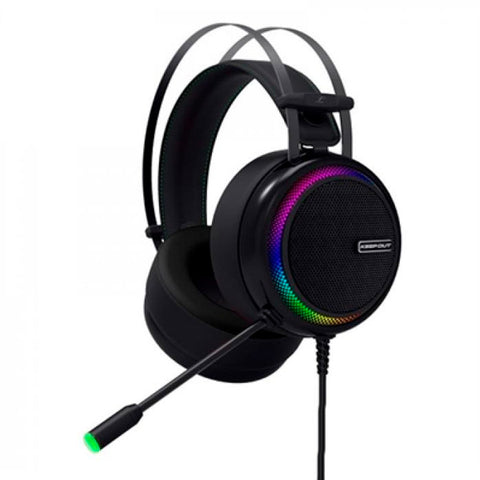 Gaming Headset with Microphone KEEP OUT HXPRO Black-Universal Store London™