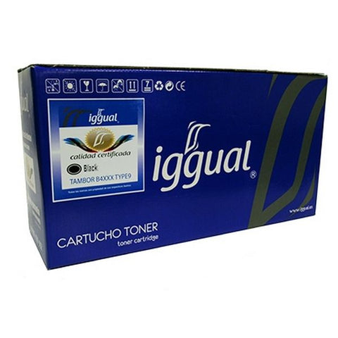 Image of Recycled Drum iggual Oki 42102802 Black-Universal Store London™