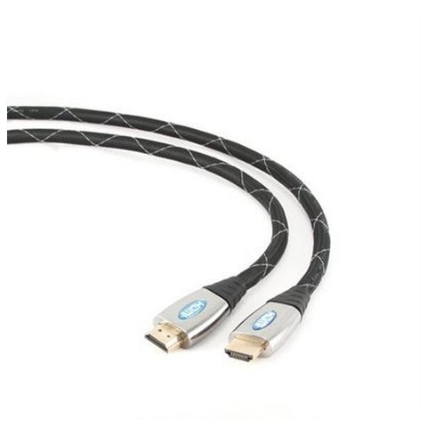 Image of 4K 3D HDMI Cable iggual IGG312223 3 m Male to Male Connector-Universal Store London™