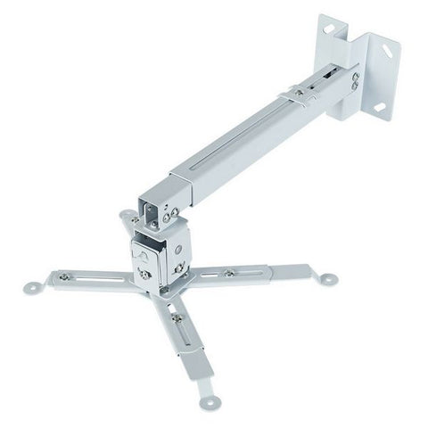 Tilt and Swivel Ceiling Mount for Projectors iggual STP02-S IGG314579 -22,5 - 22,5° -15 - 15° Aluminium White-Universal Store London™