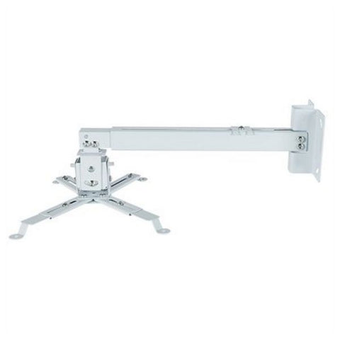 Tilt and Swivel Ceiling Mount for Projectors iggual STP02-L IGG314593 -22,5 - 22,5° -15 - 15° Aluminium White-Universal Store London™