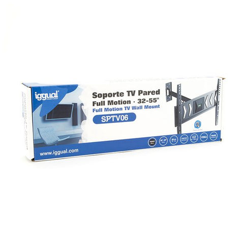 "TV Mount iggual SPTV06 IGG314623 32""-55"" Black-Universal Store London™"