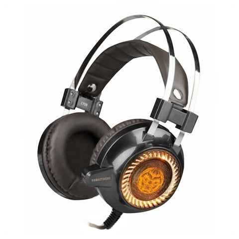 Gaming Headset with Microphone iggual KAIMATACHI Brown Orange-Universal Store London™