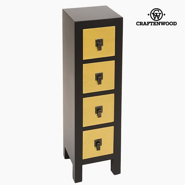 Chest of drawers Mdf (25 x 24 x 85 cm) - Modern Collection by Craftenwood-Universal Store London™