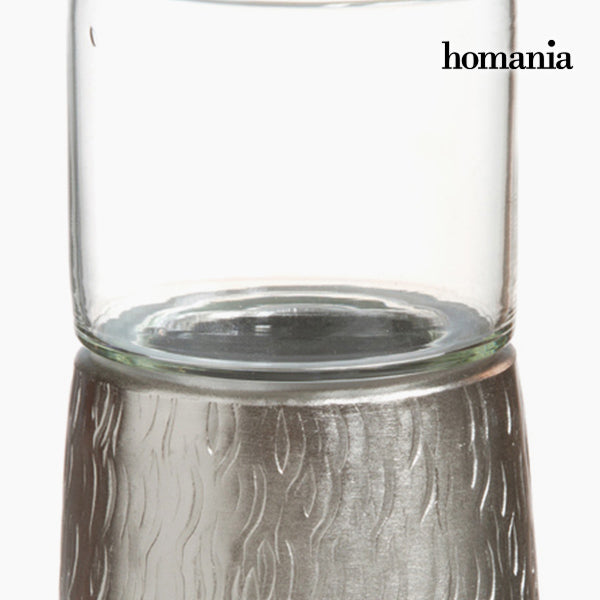 Candelabra Tin Silver - New York Collection by Homania-Universal Store London™