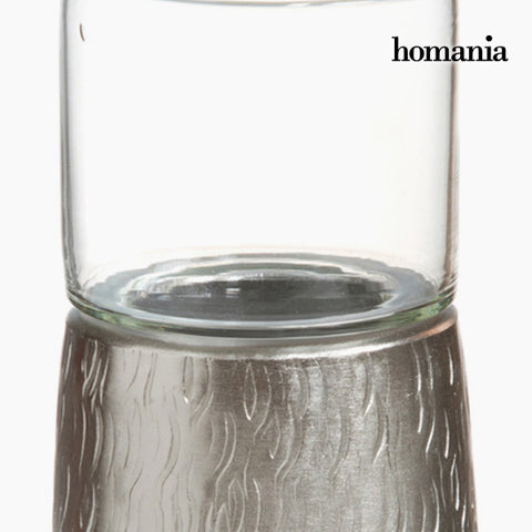 Image of Candelabra Tin Silver - New York Collection by Homania-Universal Store London™