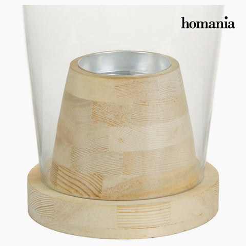 Image of Vase Glass Wood - Pure Crystal Deco Collection by Homania-Universal Store London™