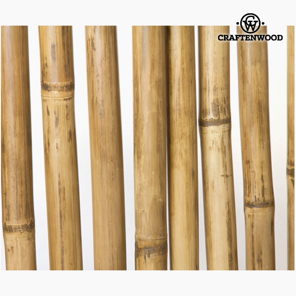 Folding screen Bamboo Natural (100 x 20 x 179 cm) - Pure Life Collection by Craftenwood-Universal Store London™