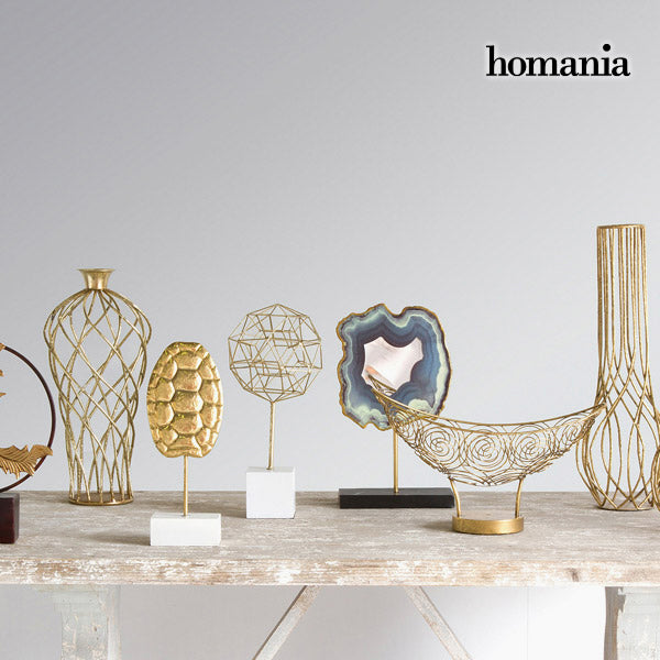 Decorative Figure Tortoise Gold by Homania-Universal Store London™