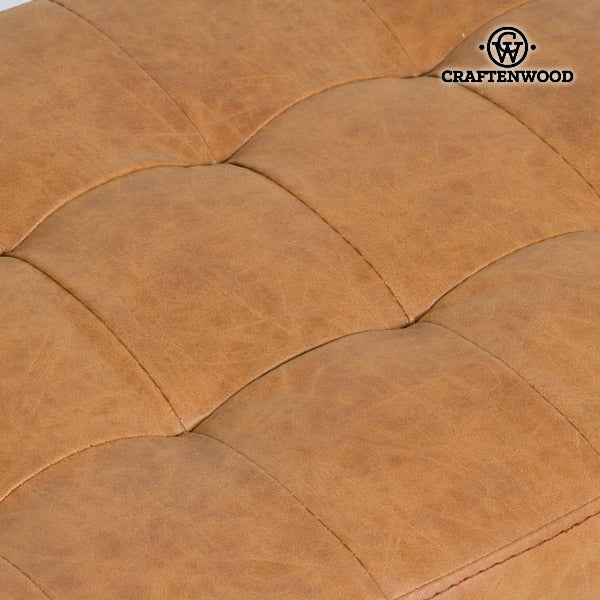 Stool Polyskin Brown - Vintage Collection by Craftenwood-Universal Store London™