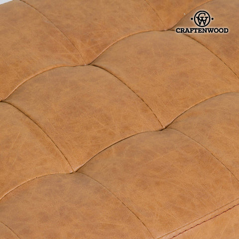 Image of Stool Polyskin Brown - Vintage Collection by Craftenwood-Universal Store London™