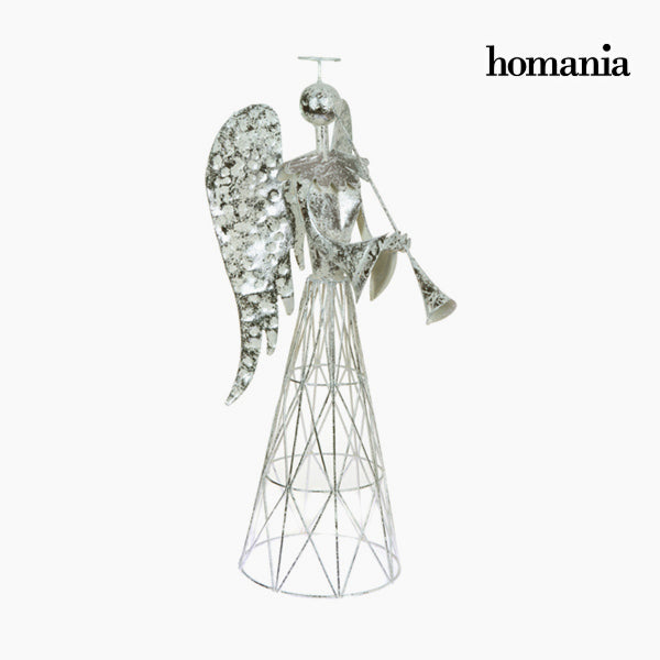 Decorative Figure Iron Silver White by Homania-Universal Store London™