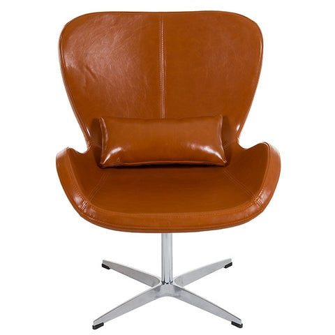 Image of Armchair Brown (70 x 70 x 90 cm) by Craftenwood-Universal Store London™