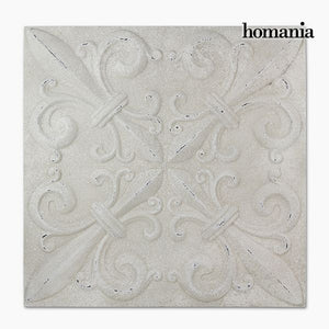Hanging decoration Squared White (94 x 94 x 7 cm) by Homania-Universal Store London™