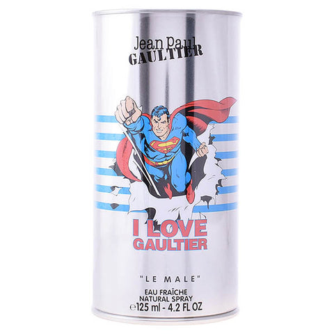 Image of Men's Perfume Le Male Superman Jean Paul Gaultier EDT-Universal Store London™
