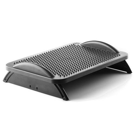 Ergonomic Footrest NGS Footstool 30º Black-Universal Store London™