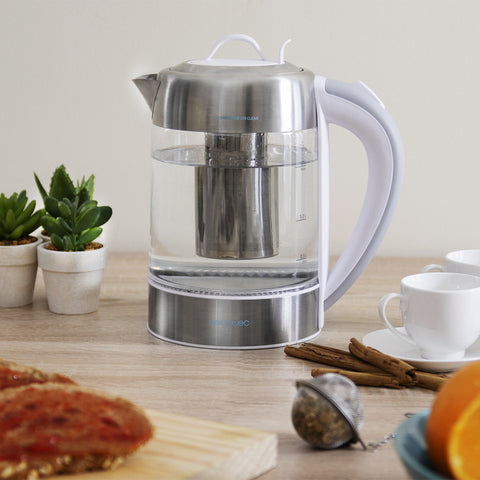 Kettle Cecotec ThermoSense 370 Clear 2200W 1,7 L-Universal Store London™