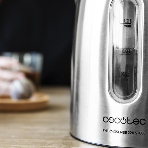 Kettle Cecotec ThermoSense Steel-Universal Store London™