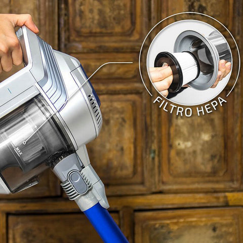 Image of Upright and Handheld Cyclone Vacuum Cecotec Conga Thunderbrush 750 Immortal 120W 25,9V-Universal Store London™