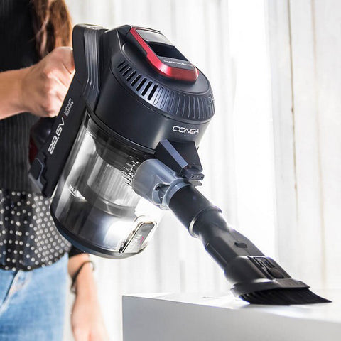 Image of Upright and Handheld Cyclone Vacuum Cecotec Conga Thunderbrush 820 Immortal 120W 29,6V-Universal Store London™