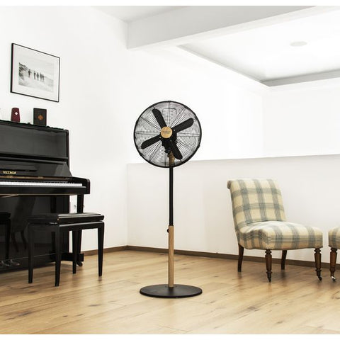 Freestanding Fan Cecotec Forcesilence 560 Woodstyle 60W-Universal Store London™