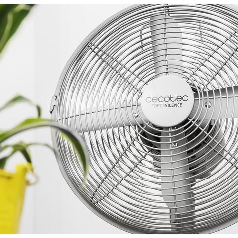Table Fan Cecotec Forcesilence 570 Steeldesk 45W-Universal Store London™