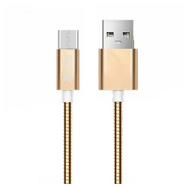 Micro USB to USB Cable Ref. 101103 Rose gold-Universal Store London™