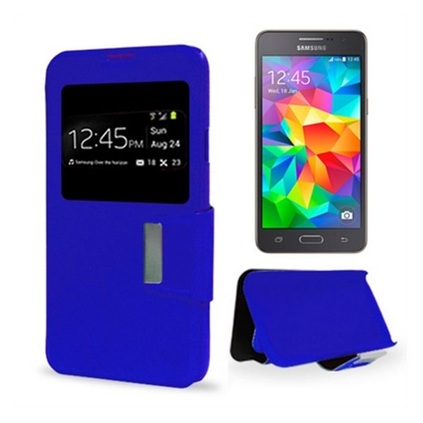 Case Samsung Grand Prime Ref. 112833 PU Blue-Universal Store London™