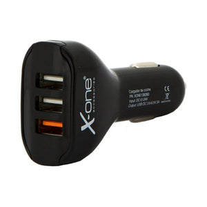 Car Charger Ref. 138260 3 x USB-A Black-Universal Store London™