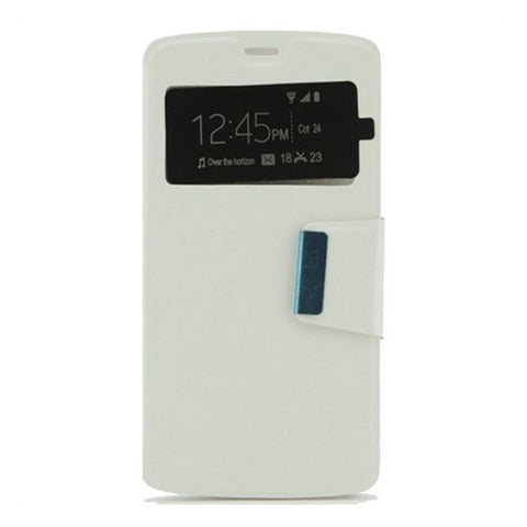 Image of Case ZTE Blade L5 Ref. 187046 PU White-Universal Store London™