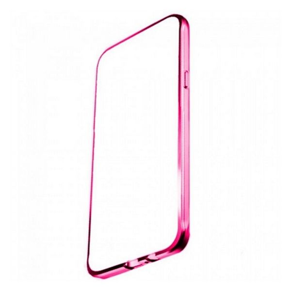 Case Samsung S7 Ref. 195706 TPU Metal Pink-Universal Store London™