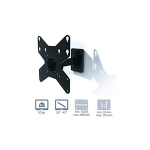 "TV Mount Gisan AX210 26""-42"" 20 kg Black-Universal Store London™"