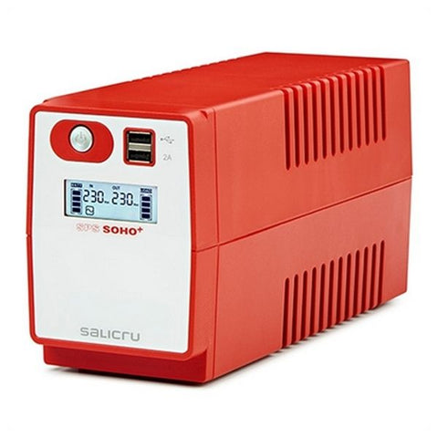 Image of Offline UPS Salicru 647CA000002 360W Red-Universal Store London™