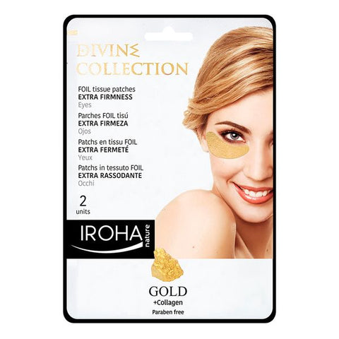 Patch for the Eye Area Gold Iroha (2 uds)-Universal Store London™
