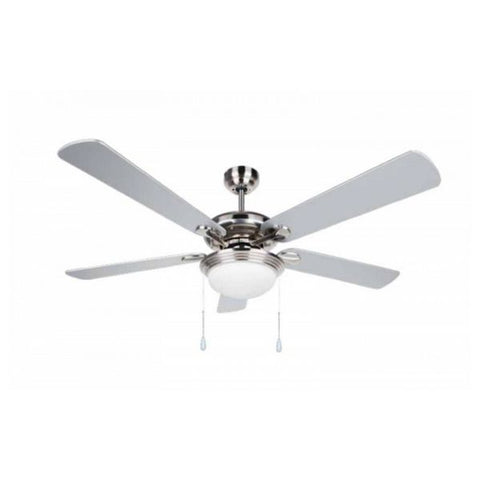 Ceiling Fan with Light Obergozo CP 83132 60W Grey-Universal Store London™