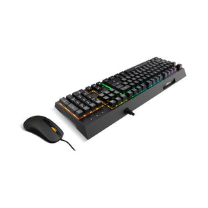 Keyboard with Gaming Mouse Krom NXKROMKALEIDO-Universal Store London™