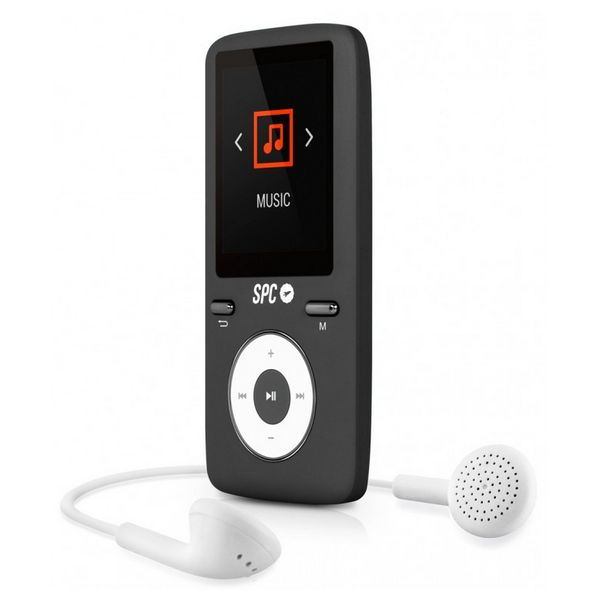 MP4 Player SPC Pure Sound Colour 2 8 GB Black-Universal Store London™