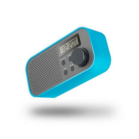 Transistor Radio SPC Frosty 4570A FM/AM LCD Blue Grey-Universal Store London™