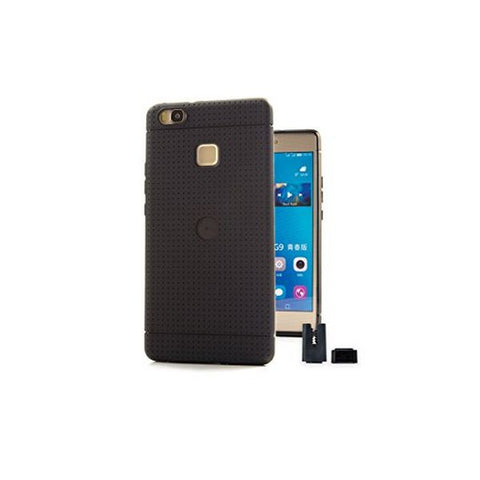 Image of Mobile cover STIKGO STIK00072 Huawei P9 Lite CarClip TPU Black-Universal Store London™